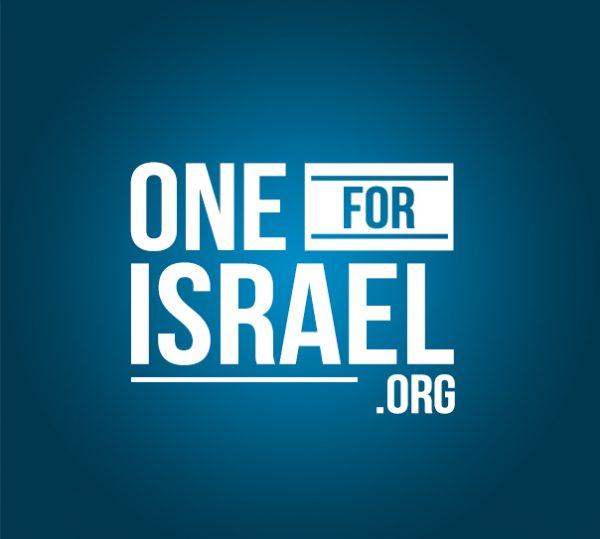 OneForIsrael-vertical-blue